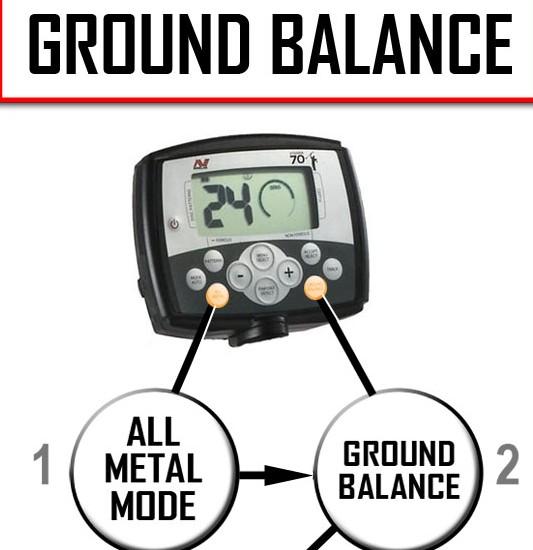 Ground Balance - Ajuste de Terra