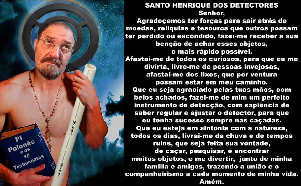 Santo Henrique dos Detectoristas