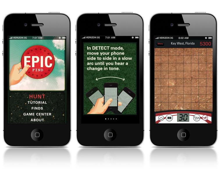 Epic find - Detector de Metal via iPhone